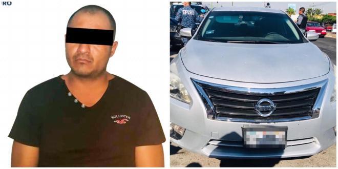 Tras persecución, detiene SSPH a sujeto relacionado con ataque armado