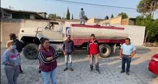 Pese a pago puntual, colonos de Tepeji llevan 10 días sin agua, acusan