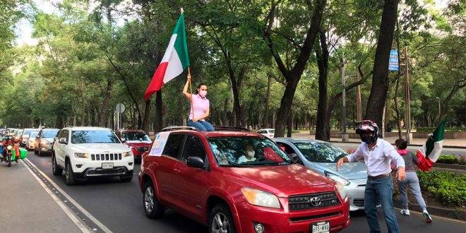 Protesta caravana contra López Obrador en varios estados