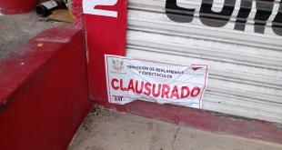 Realizó alcaldía de Tulancingo 14 clausuras a comercios no esenciales