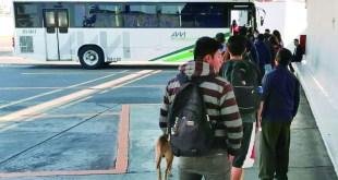 Sana distancia en transporte atrasacorridas: usuarios