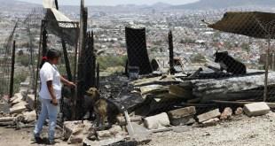 Arrasa fuego con una vivienda en la colonia El Saucillo; piden ayuda