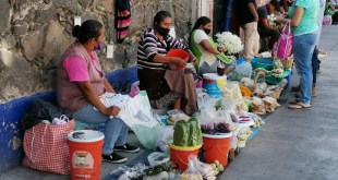 Por contingencia, caen ingresos de comercio informal hasta 50 por ciento