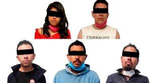 Detienen a cinco personas por portar armas, en Hidalgo
