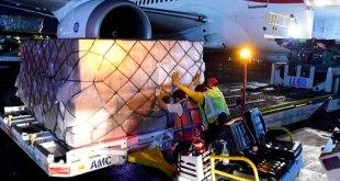 Arriba a México nuevo cargamento con insumos de China