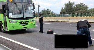 Muere un hombre arrollado sobre la México-Pachuca