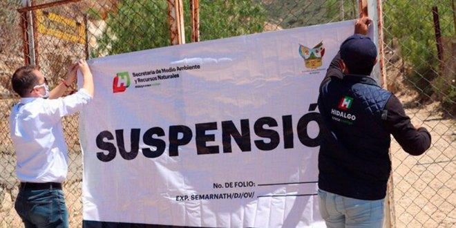 Suspende Semarnath predios en el cerro de San Bartolo