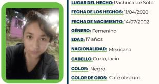 Se busca a Monserrat Cruz, extraviada desde abril pasado en Pachuca