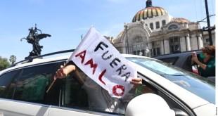 Por tercera vez, realizan marcha antiAMLO CDMX