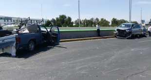Carambola entre vehículos sobre el Río de las Avenidas deja cuatro lesionados