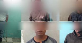 Detienen a cinco sujetos por desmantelar bodega en Tizayuca