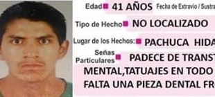 Piden ayuda para localizar a Alfonso Ortiz; se extravió en Pachuca