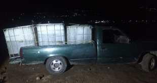 Decomisan 3 vehículos con huachicol en San Agustín Tlaxiaca