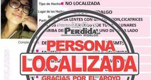 Localizan Joseline González Fernández Tizayuca
