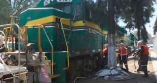 Descarrila tren en Ecatepec; no hay lesionados