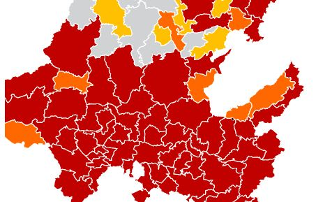 avance Covid-19 municipios hidalguenses