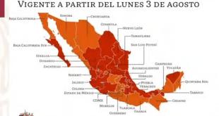 Hidalgo semáforo rojo dos semanas más