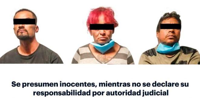 Detienen a 3 por robo autotransporte; fue sustraído Cuautepec