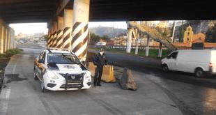 Cuerpo queda desmembrado en México-Pachuca; le pasaron por encima