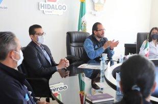 Secretario de Salud estatal anuncia relevos en áreas