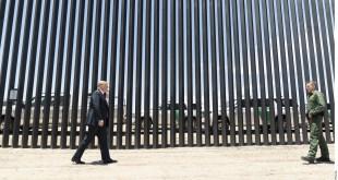 visita AMLO, presume Trump muro Arizona