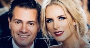 Felicita Tania Ruiz a Enrique Peña Nieto por su cumple