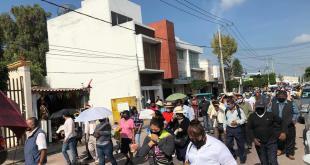 Se manifiestan en Actopan contra presidente municipal