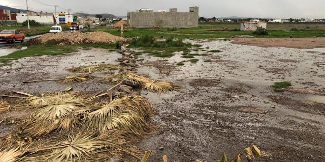 Fugade aguas negras en El Tezontle, sin atención de Caasim