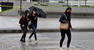 Lluvias y vientos fuertes este miércoles en Hidalgo