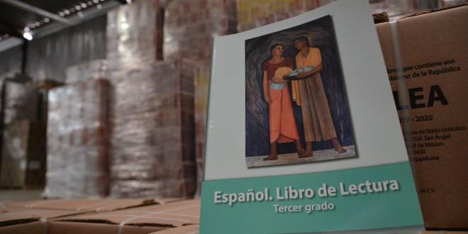 Casi al 70%, la distribución de libros de texto en Hidalgo