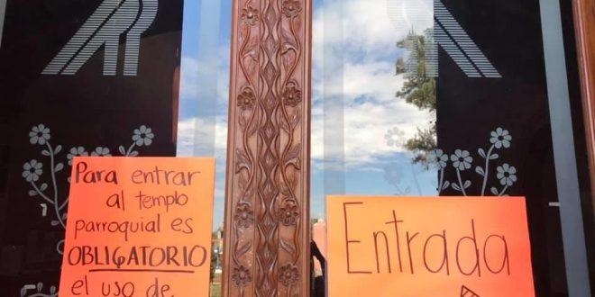 Parroquia Ixmiquilpan retomará actividades