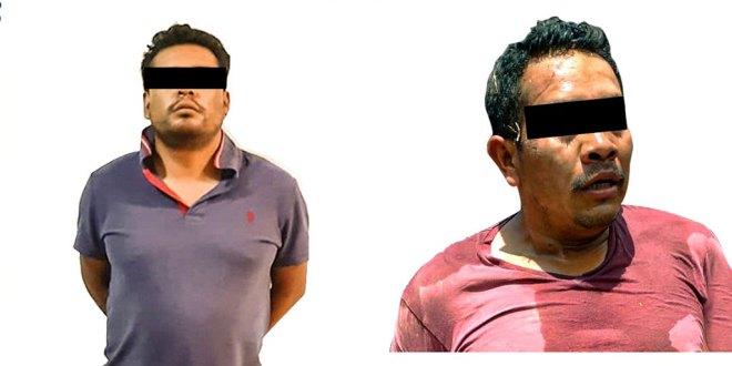 En Hidalgo, detienen a dos hombres por delitos federales