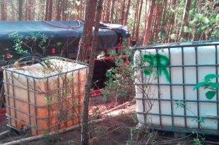 Encuentra Sedena campamento huachicol Hidalgo