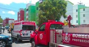 Confunden fumigación incendio movilizan unidades El Palmar