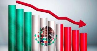 Economía México sufre caída histórica 17,3%