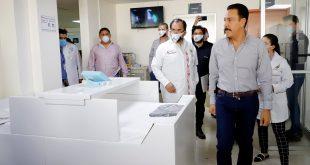 Inauguran unidad de recuperación para pacientes Covid en Hidalgo