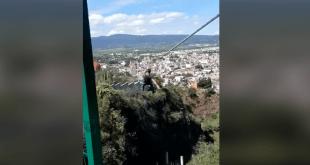 Así será la tirolesa del Parque Aventura, de Tulancingo
