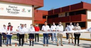 Inaugura Omar Fayad el Cecyteh plantel San Felipe Orizatlán