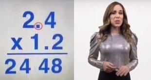 Muestran supuesto error de Lady Matemáticas en un video
