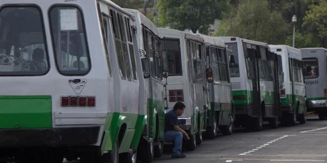 IMSS choferes transporte público CDMX
