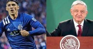 Alan Pulido AMLO criticar futbolistas