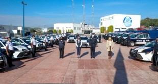 21 patrullas Policía Municipal Pachuca