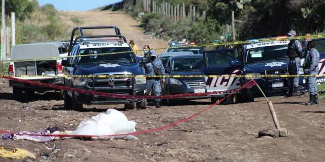 Localizan cuerpo en camino de terracería en Pachuca
