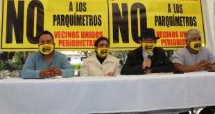 Colonia Periodistas mantendrá su rechazo a parquímetros: vecinos