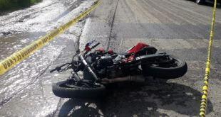 Motociclista muere en Tepeji