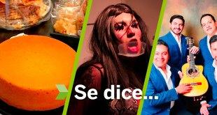 Gastronomía, teatro Fin de Semana