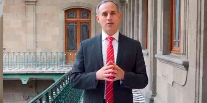 López-Gatell disciplina riesgo rebrotes