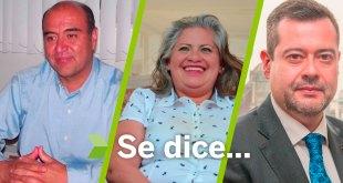 Se dice... que Natividad Castrejón, José Ramón Amieva y Juana García