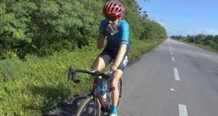 Parten ciclistas hidalguenses nacional ruta