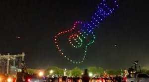 Invitan a disfrutar show de drones desde azoteas el 15 de septiembre